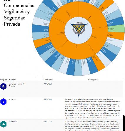 Rueda De Competencias Vigilancia y Seguridad Privada