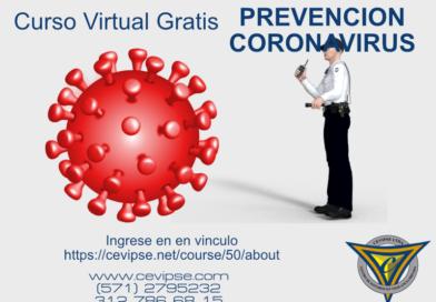 CURSO VIRTUAL GRATIS PREVENCIÓN COVID 19