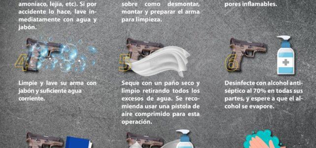 LIMPIEZA DEL ARMA EN TIMEPOS DE COVID 19